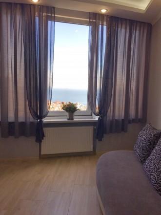 Сдам 1 комнатную квартиру с видом моря в ЖК Южная Пальмира. Квартира общей площа. Аркадия, Одесса, Одесская область. фото 5