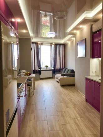 Сдам 1 комнатную квартиру с видом моря в ЖК Южная Пальмира. Квартира общей площа. Аркадия, Одесса, Одесская область. фото 2