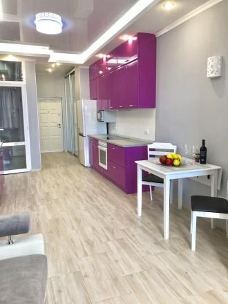 Сдам 1 комнатную квартиру с видом моря в ЖК Южная Пальмира. Квартира общей площа. Аркадия, Одесса, Одесская область. фото 8