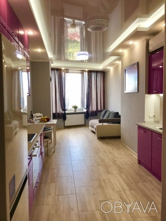 Сдам 1 комнатную квартиру с видом моря в ЖК Южная Пальмира. Квартира общей площа. Аркадия, Одесса, Одесская область. фото 1