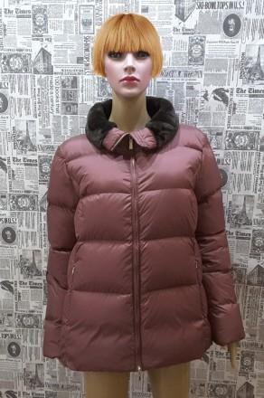 Супер куртка- пуховик,geox,оригинал , италия ,uk14 ,usa 12, наш 48. Пирятин. фото 1