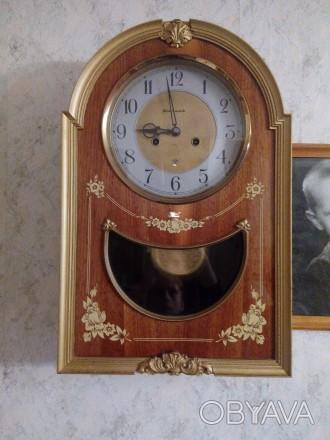 Часы настенные, в рабочем состоянии.. Коростень, Житомирская область. фото 1