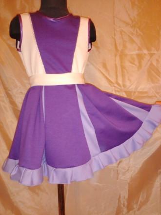 Трикотажное платье на 5 - 6 лет. Одесса. фото 1