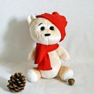 Мягкая игрушка из искусственного меха медвежонок Богданчик. Киев. фото 1