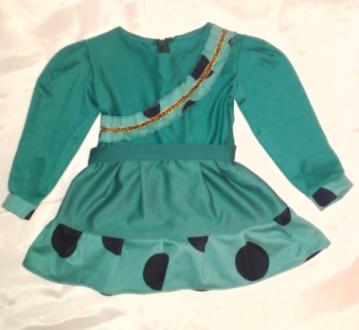 Трикотажное платье на девочку на 1.5-2 года. Одесса. фото 1