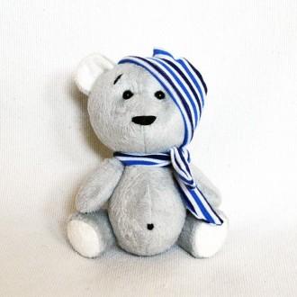 Мягкая игрушка  из плюша хенд мейд медвежонок Богданчик. Киев. фото 1