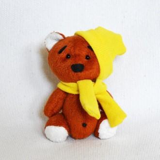 Мягкая игрушка  из плюша хенд мейд медвежонок Кроха. Киев. фото 1