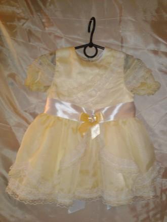 Нарядное платье на 2 - 3 года.. Одесса. фото 1