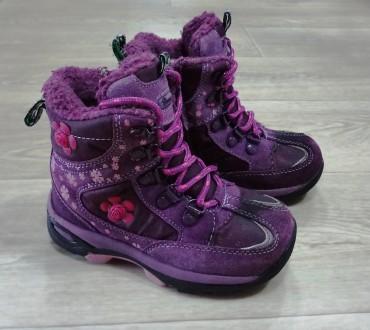 Зимние термо ботинки Buddy Dog - для девочки. Белая Церковь. фото 1