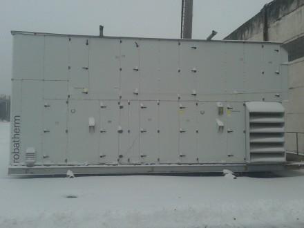 Продается установка по подготовке сушильного воздуха (промышленный кондиционер). Прилуки. фото 1