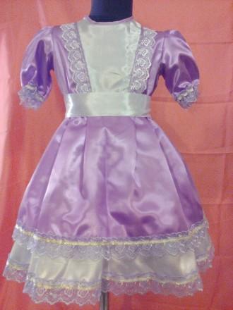Платье нежного сиреневого цвета для девочки 3-4 года. Одеса. фото 1