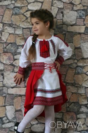 dd53abe892e8fe Вишитий український костюм для дівчинки
