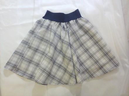 Юбка для девочки на широкой резинке на 10-12 лет. Одесса. фото 1