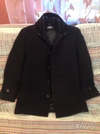 Пальто мужское, осень-весна, состояние нового. Без изъянов и дефектов. Одевалось. Нежин, Черниговская область. фото 1