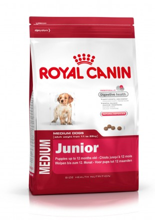 Корм для собак royal canin medium junior 15 кг.. Киев. фото 1