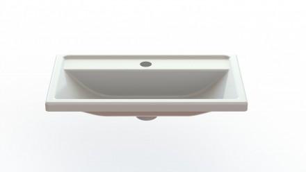 Продам тумбу с умывальником для ванной комнаты. Фасад крашенный MDF-(medium-den. Киев, Киевская область. фото 3