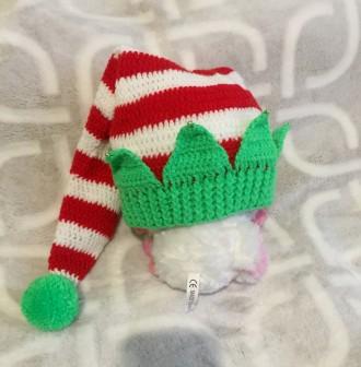 Новогодняя шапка, шапка для фотосессии. Харьков. фото 1