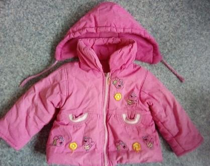 Детская осенне-весенняя куртка на флисе. Кривой Рог. фото 1