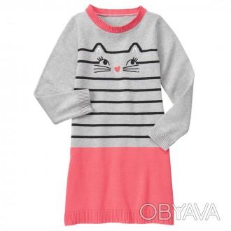 В наличии теплые хлопковые платья  Gymboree (США) для девочек  Размер США 12(L. Луцк, Волынская область. фото 1