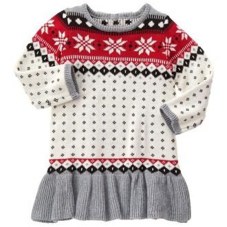 Платье теплое для девочки от Gymboree (США) возраст 5 лет. Луцьк. фото 1