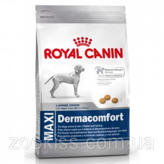 Royal Canin Maxi Dermacomfort 12кг.. Киев. фото 1