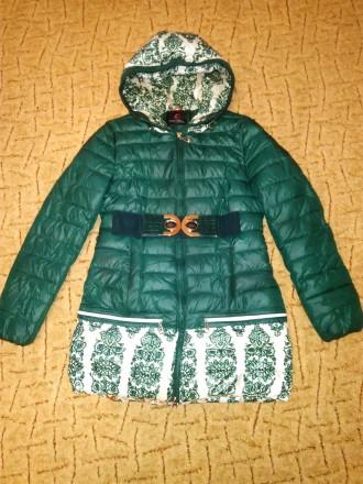 Пальто/ куртка для девочки 10-12 лет.. Херсон. фото 1
