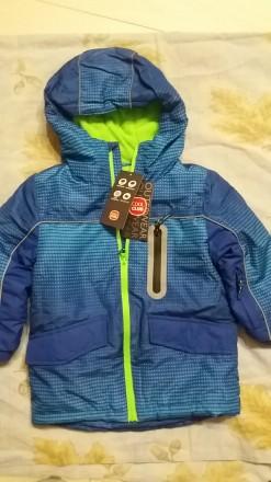 Зимняя термокуртка на мальчика Cool Club,р.104. Чернигов. фото 1