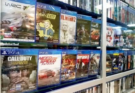 Игры для Playstation 4 в наличие широкий ассортимент игр (PS4). Запорожье. фото 1