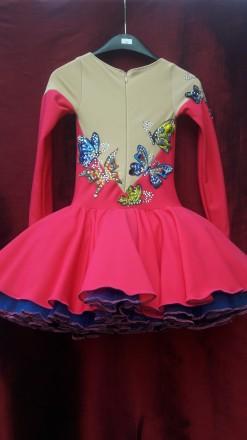 Платье термобифлекс для фигурного катания. Сумы. фото 1