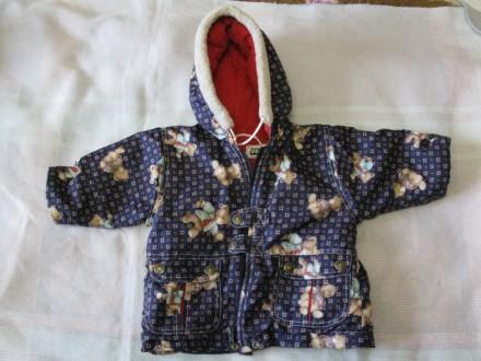 Куртка демисезонная 74 размер, 1,5 г. Черкассы. фото 1