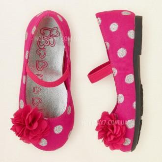 Классные туфельки для девочки от Children's Place (США) размер 24. Луцк. фото 1