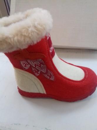 Продам новые зимнюю обувь-валенки для детей.размеры 22,23,24,25,26,27,28,29.. Верхнеднепровск. фото 1