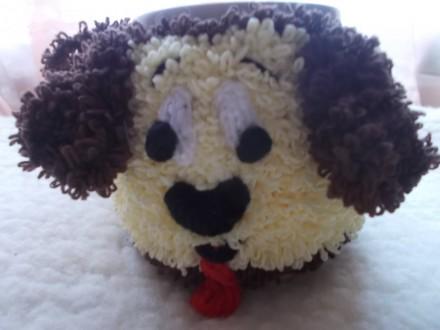 Продам чехол-грелку на кружку, символ Нового 2018 года - Собака. Это отличный н. Чернигов, Черниговская область. фото 4