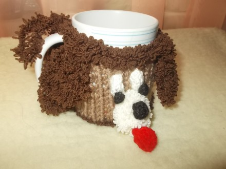 Продам чехол-грелку на кружку, символ Нового 2018 года - Собака. Это отличный н. Чернигов, Черниговская область. фото 5