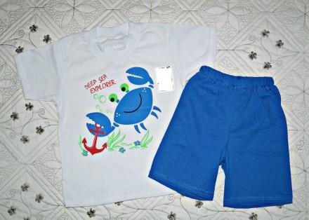 """Стильный комплект """"Крабик"""" для мальчика.  Такой костюмчик отлично подойдет для . Кропивницкий, Кировоградская область. фото 2"""