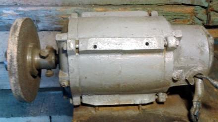Точило. Електродвигатель. Двигун. Наждак. 220-380V/0.37kw. Борисполь. фото 1