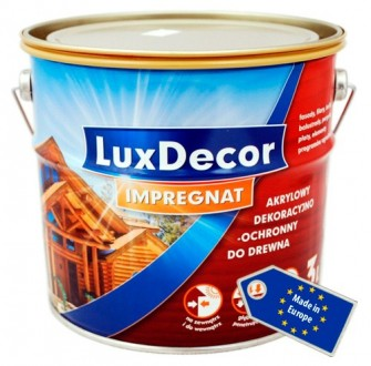 Пропитка акриловая с воском для дерева LuxDecor impregnat 10 л.. Киев. фото 1