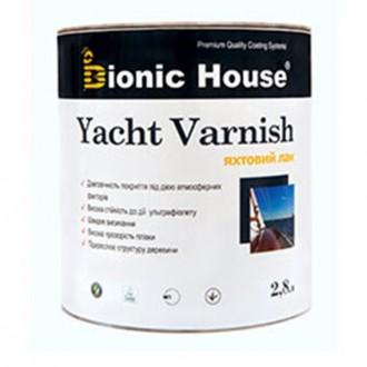 Яхтный лак для дерева Bionic- House 2,8 л.. Киев. фото 1