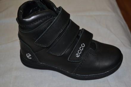 Продам новые кожаные зимние ботинки на мальчиков. Размеры 33, 35, 36, 37, 38, 39. Верхнеднепровск. фото 1
