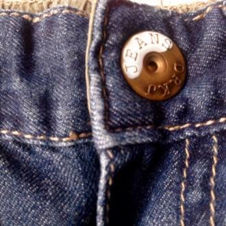 Джинсовые штаны 3/4 (удлиненные шорты) для мальчика.  Размер 68 (длина 36 см. О. Одесса, Одесская область. фото 8