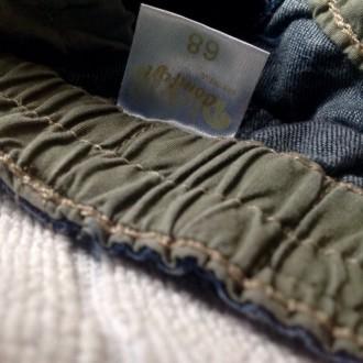 Джинсовые штаны 3/4 (удлиненные шорты) для мальчика.  Размер 68 (длина 36 см. О. Одесса, Одесская область. фото 9