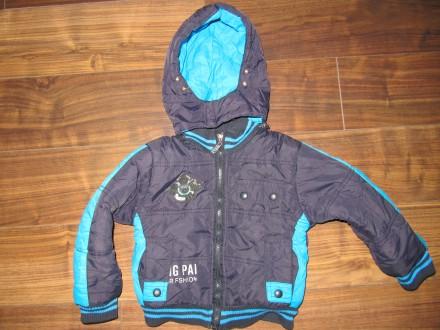 Утепленная курточка 2-4 года. Бердянск. фото 1