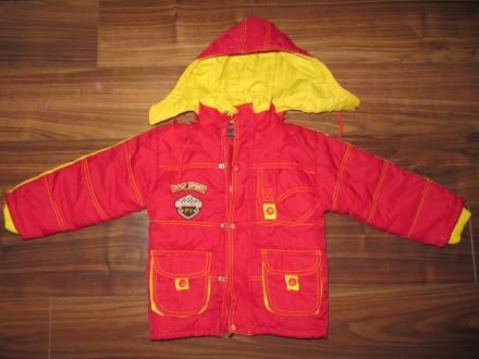 Утепленная курточка на 4-5 лет. Бердянск. фото 1