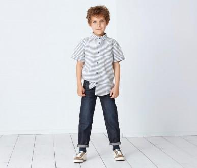 Стильные джинсы Kids от Tchibo.134/140 см. Никополь. фото 1
