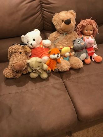 Набор мягких детских игрушек. Киев. фото 1