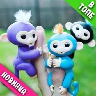 Интерактивная обезьянка Fingerlings на палец. Одесса. фото 1