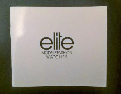 Женские изысканные часы,фирма ELITE Models'Fashion. Elite-агенство моделей номер. Киев, Киевская область. фото 4
