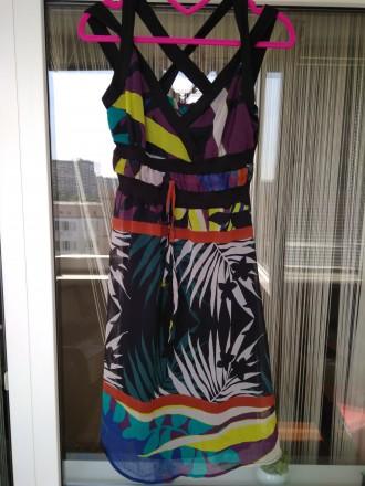 Сарафан платье женское новое SANDRO FERRONЕ Италия Размер S. Киев. фото 1
