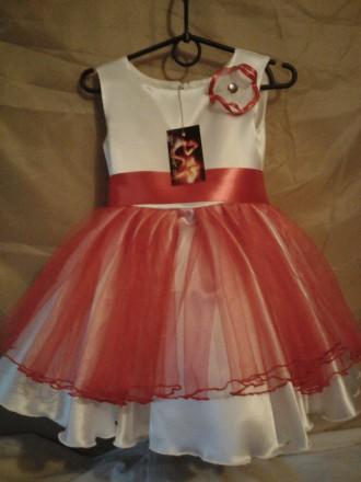 Нарядное платье на 3 - 4 года.. Одесса. фото 1