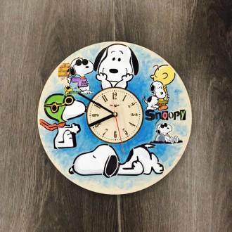 Яркие детские настенные часы с бесшумным кварцевым механизмом выполнены из натур. Киев, Киевская область. фото 3